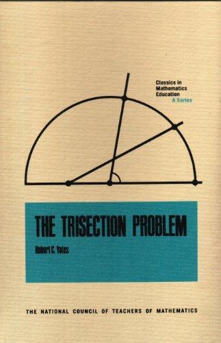 9780873530385: Trisection Problem