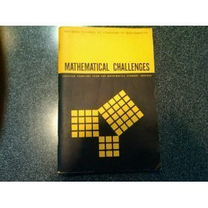 Mathematical Challenges: Selected Problems from the Mathematics Student Journal: Charoash, Mamis