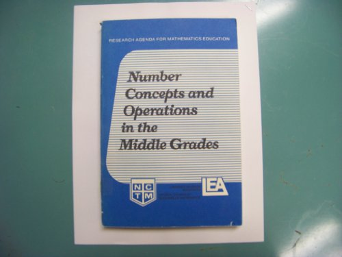 9780873532655: Number Concepts and Operations in the Middle Grades (Research agenda for mathematics education)