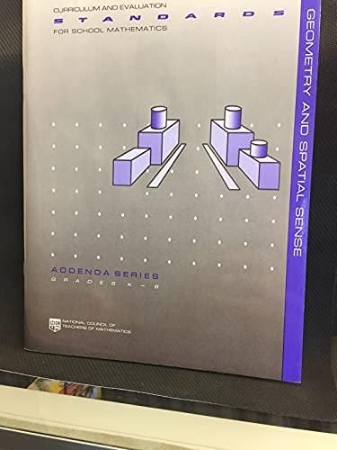 Geometry and Spatial Sense (Curriculum and Evaluation: John Del Grande,
