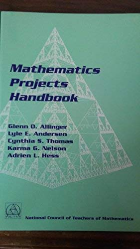 Mathematics Projects Handbook: National Council of
