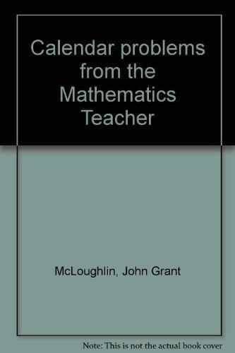9780873535151: Calendar Problems from the Mathematics Teacher