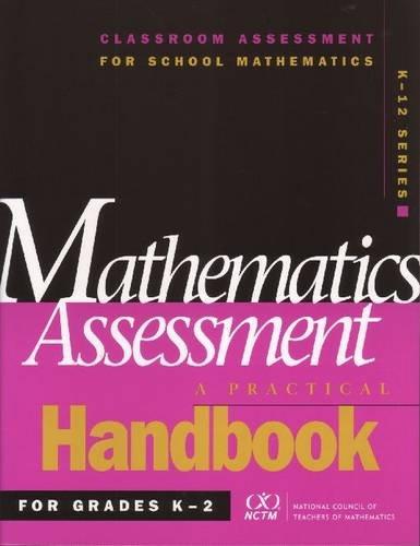 9780873535380: Mathematics Assessment: A Practical Handbook for Grades K-2