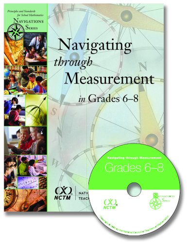 9780873535458: Navigating Through Measurement in Grades 6-8 (Principles and Standards for School Mathematics Navigations)