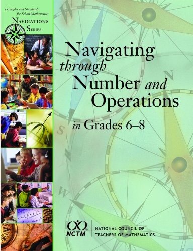 9780873535755: Navigating Through Number and Operations in Grades 6-8 (Principles and Standards for School Mathematics Navigations)