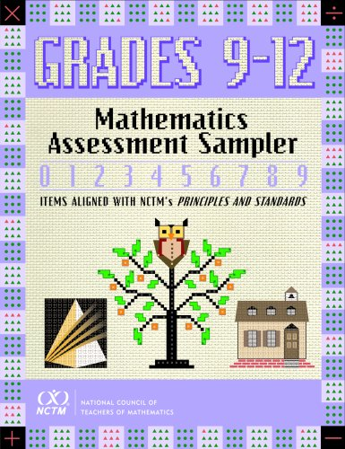 9780873535786: Mathematics Assessment Sampler, Grades 9-12 (Mathematics Assessment Samplers)