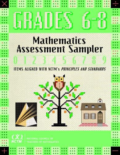 9780873535809: Mathematics Assessment Sampler, Grades 6-8 (Mathematics Assessment Samplers)