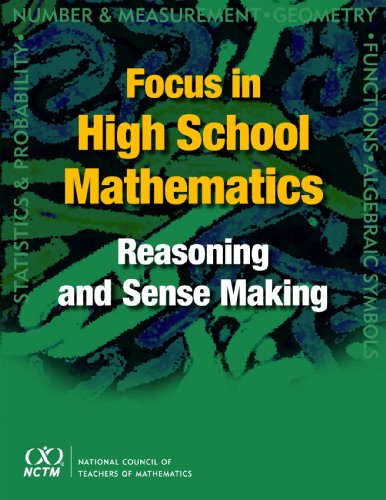 9780873536318: Focus in High School Mathematics: Reasoning and Sense Making