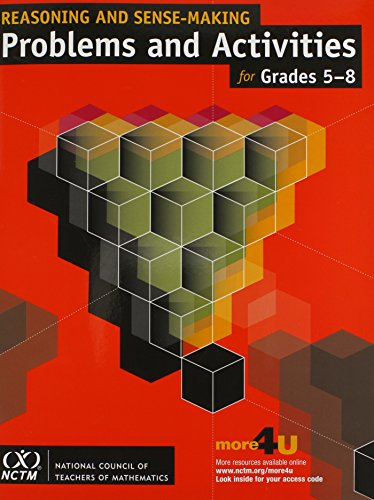 9780873536325: Reasoning and Sense-Making Problems and Activities for Grades 5-8