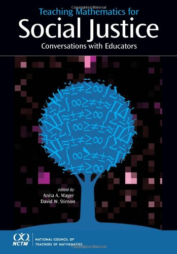 9780873536790: Teaching Mathematics for Social Justice: Conversations with Educators