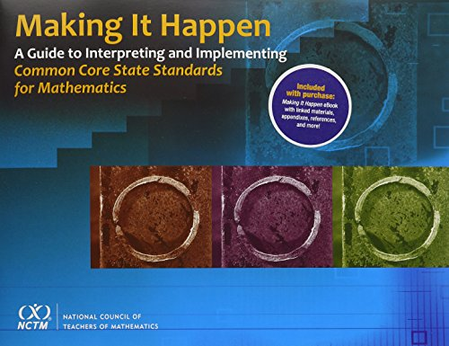 Making it Happen: Executive Summary and eBook Budle: National Council of Teachers of Mathematics