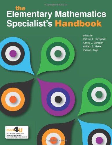 9780873536998: The Elementary Mathematics Specialists Handbook