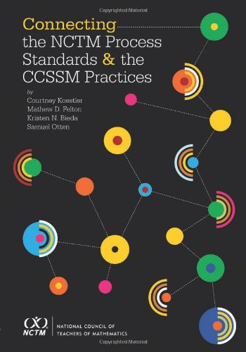 9780873537087: Connecting the NCTM Process Standards and the Ccssm Practices