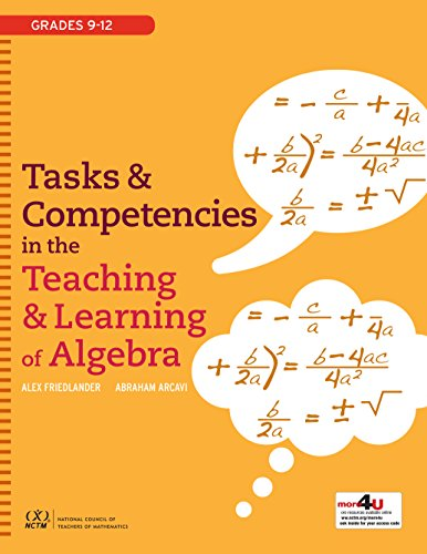 Tasks and Competencies in the Teaching and: Alex Friedlander; Abraham