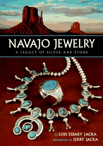 9780873586092: Navajo Jewelry: A Legacy of Silver and Stone