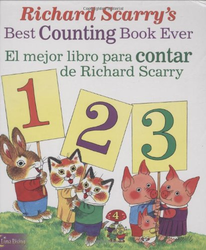 9780873588751: Richard Scarry's Best Counting Book Ever / El Mejor Libro Para Contar de Richard Scarry