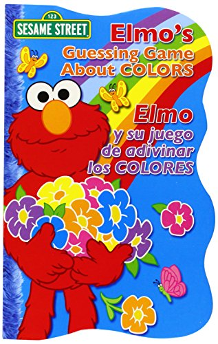 9780873589055: Elmo's Guessing Game About Colors / Elmo y su juego de adivinar los colores (Sesame Street Elmo's World (Board Books)) (English, Multilingual and Spanish Edition)