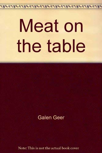 9780873643306: Meat on the table: Modern small-game hunting
