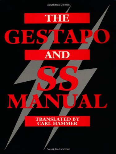9780873648752: The Gestapo And SS Manual