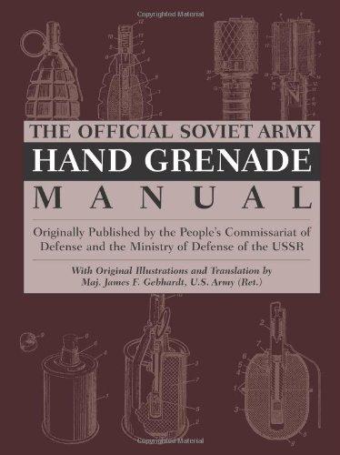 9780873649674: Official Soviet Army Hand Grenade Manual