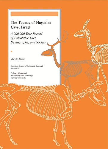 The Faunas of Hayonim Cave, Israel: A 200,000-Year Record of Paleolithic Diet, Demography, and ...