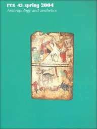 Res: Spring 2004 v. 45: Anthropology and Aesthetics (Paperback): Francesco Pellizzi