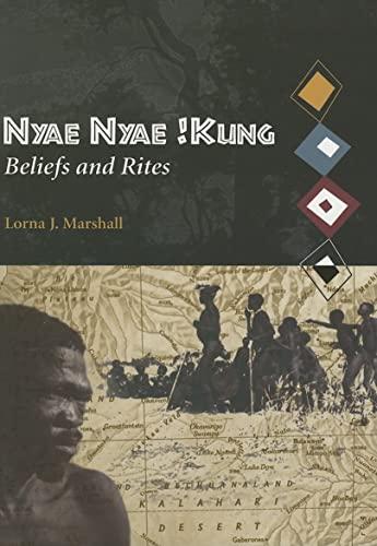 9780873659086: Nyae Nyae !Kung Beliefs and Rites (Peabody Museum Monographs No. 8)