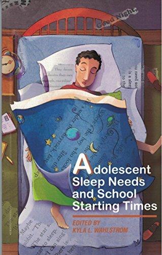9780873678179: Adolescent Sleep Needs & School Starting Times