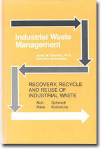 9780873710022: Recovery, Recycle & Reuse of Industrial Waste (Industrial Waste Management Series)