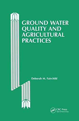 9780873710367: Ground Water Quality and Agricultural Practices