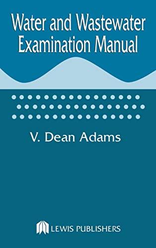 9780873711999: Water and Wastewater Examination Manual