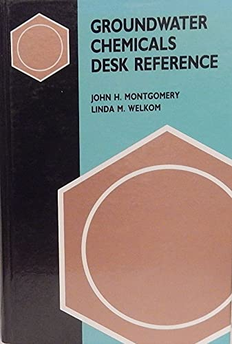 9780873712866: Groundwater Chemicals Desk Reference (v. 1)