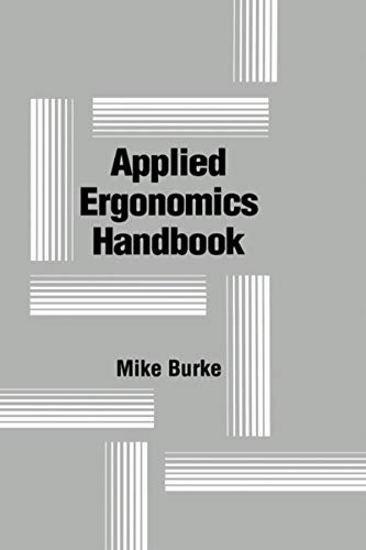 9780873713672: Applied Ergonomics Handbook