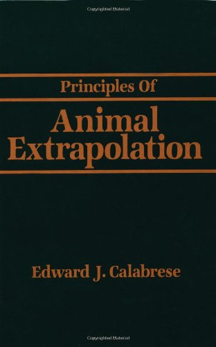 9780873714105: Principles of Animal Extrapolation