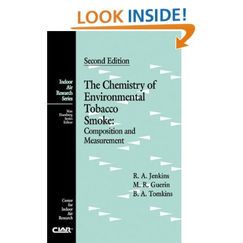 9780873714440: The Chemistry of Environmental Tobacco Smoke: Composition and Measurement, Second Edition (Indoor Air Research)
