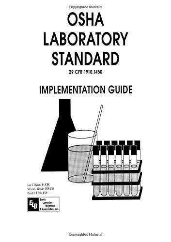 9780873715324: Osha Laboratory Standard - Implementation Guide