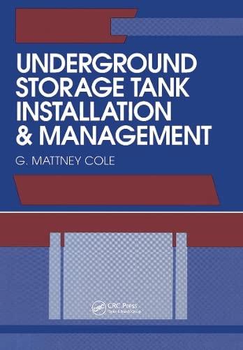 9780873715966: Underground Storage Tank Installation and Management