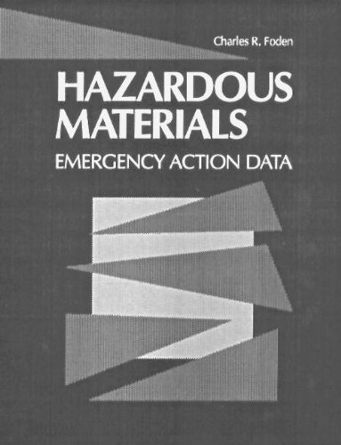 9780873715980: Hazardous Materials: Emergency Action Data