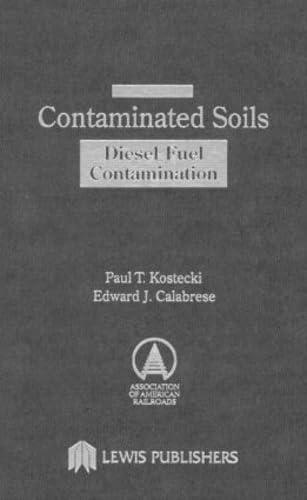 9780873717083: Contaminated Soils: Diesel Fuel Contamination