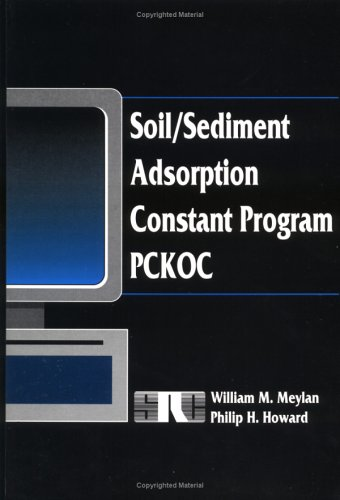 Soil/Sediment Adsorption Constant Program: Philip H. Howard, William M. Meylan