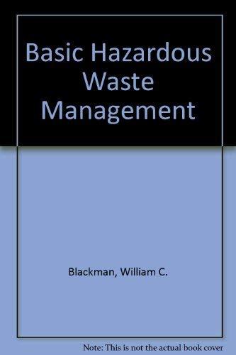 9780873717922: Basic Hazardous Waste Management, Third Edition