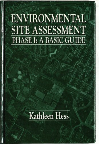 9780873717984: Environmental Site AssessmentPhase 1: A Basic Guide