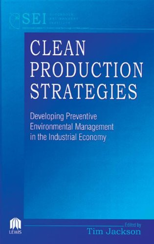 9780873718844: Clean Production Strategies Developing Preventive Environmental Management in the Industrial Economy