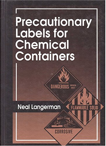 9780873719179: Precautionary Labels for Chemical Containers