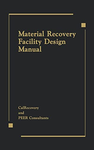 9780873719445: Material Recovery Facility Design Manual