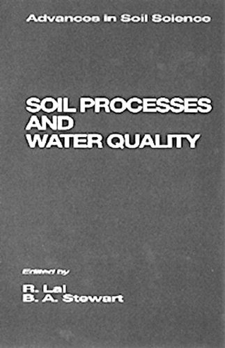 9780873719803: Soil Processes and Water Quality (Advances in Soil Science)