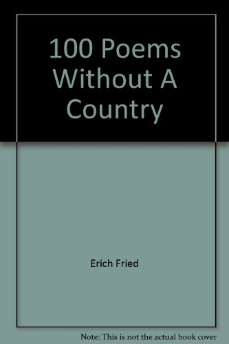 9780873760966: 100 Poems Without A Country