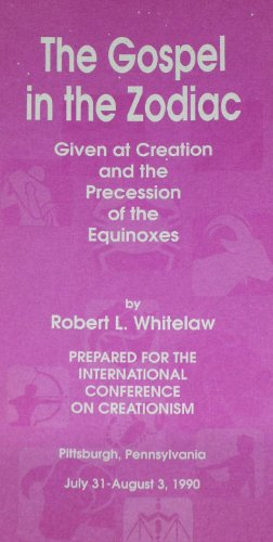 9780873770064: Gospel in the Zodiac Given at Creation