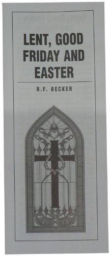9780873770118: Lent, Good Friday & Easter