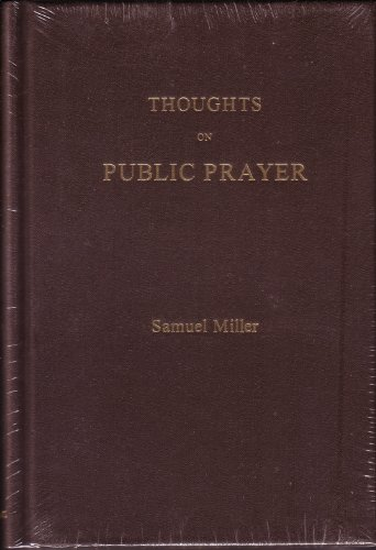 9780873779272: Thoughts on Public Prayer